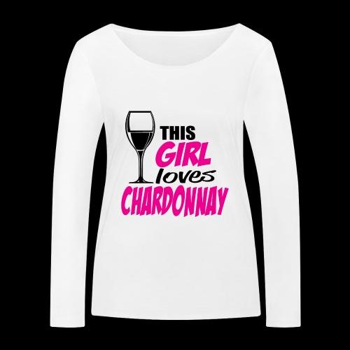 Chardonnay - T-shirt manches longues bio Stanley & Stella Femme