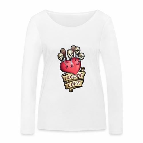 AMOR VOODOO - Camiseta de manga larga ecológica mujer de Stanley & Stella