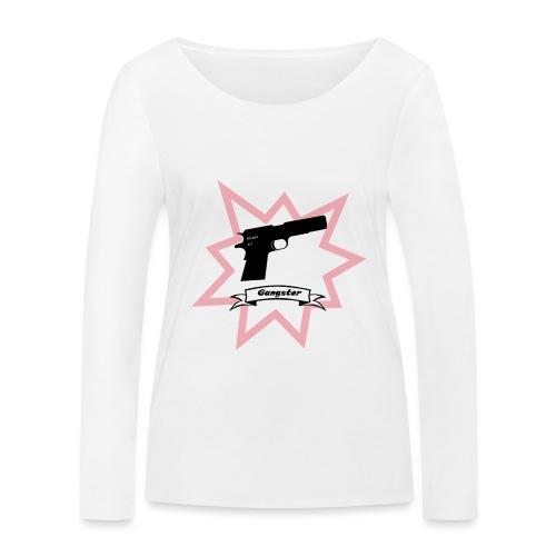 Gun with boom! - Women's Organic Longsleeve Shirt by Stanley & Stella