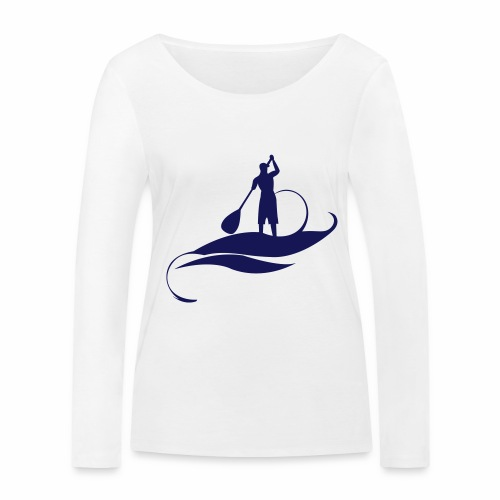 Paddle Man - T-shirt manches longues bio Stanley & Stella Femme