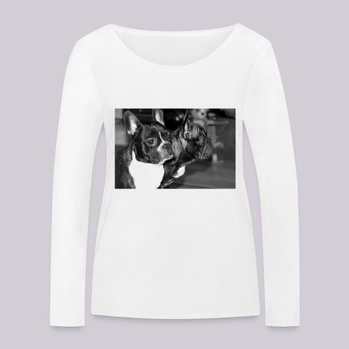 Frenchies - Women's Organic Longsleeve Shirt by Stanley & Stella