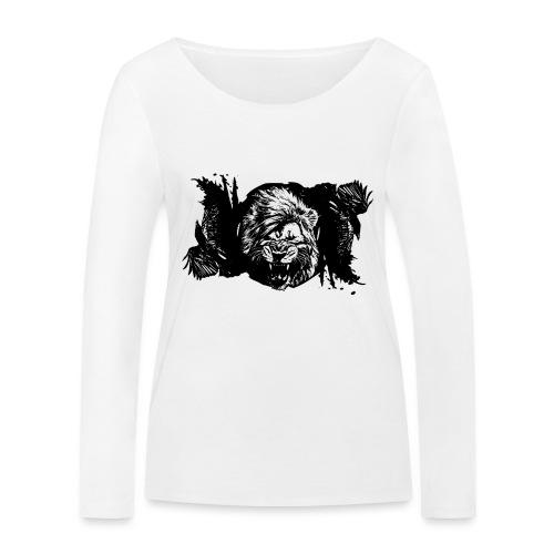 Raven & lion - T-shirt manches longues bio Stanley & Stella Femme