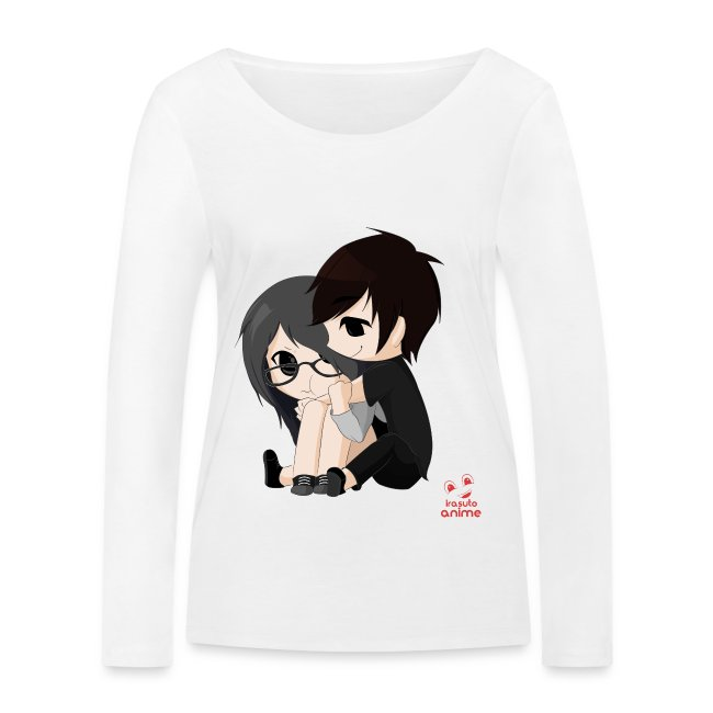 otaku anime pareja chibi kawaii