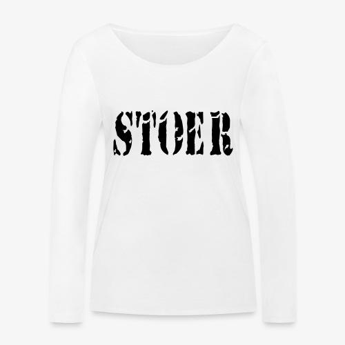 stoer tshirt design patjila - Women's Organic Longsleeve Shirt by Stanley & Stella