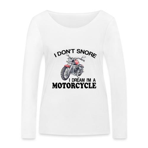 I DON´T SNORE - Camiseta de manga larga ecológica mujer de Stanley & Stella