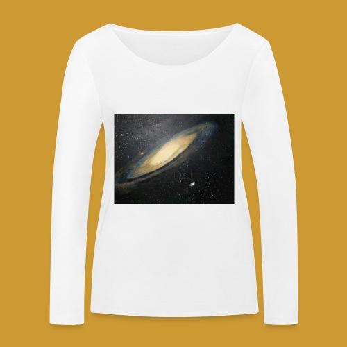 Andromeda - Mark Noble Art - Women's Organic Longsleeve Shirt by Stanley & Stella