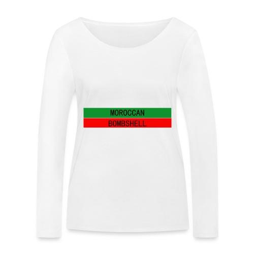 Moroccan Bombshell - Frauen Bio-Langarmshirt von Stanley & Stella