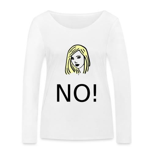 #NO tshirt - Maglietta a manica lunga ecologica da donna di Stanley & Stella