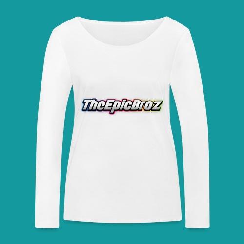 TheEpicBroz - Vrouwen bio shirt met lange mouwen van Stanley & Stella