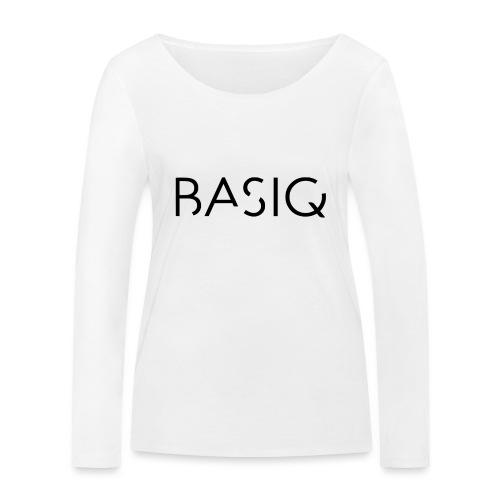 Basiq black - Frauen Bio-Langarmshirt von Stanley & Stella
