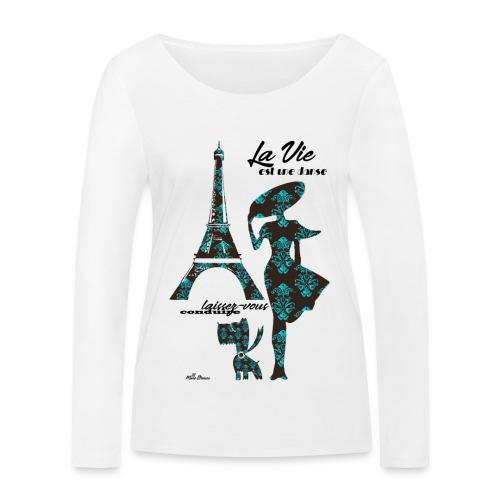 La Vie est une danse - Maglietta a manica lunga ecologica da donna di Stanley & Stella