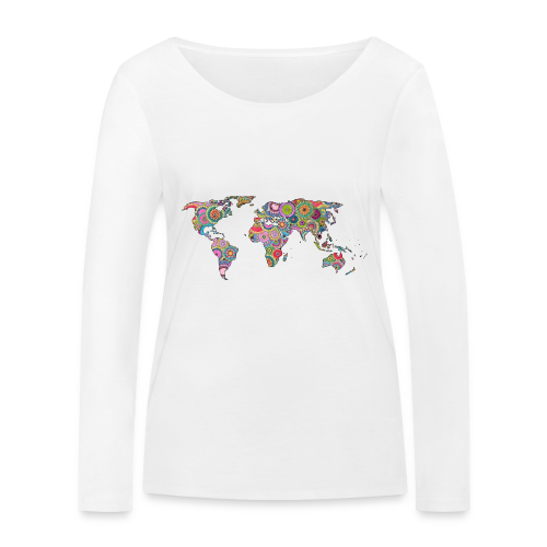 Hipsters' world - Women's Organic Longsleeve Shirt by Stanley & Stella