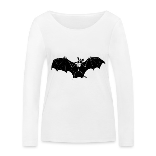 Bat skeleton #1 - Women's Organic Longsleeve Shirt by Stanley & Stella
