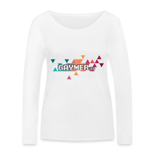 Logo Gaymer.es - Camiseta de manga larga ecológica mujer de Stanley & Stella