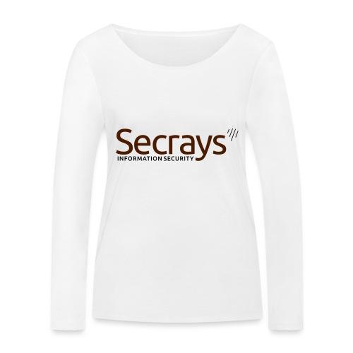 Secrays vektori logo - Stanley & Stellan naisten pitkähihainen luomupaita