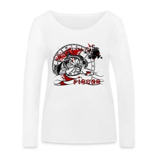 Trash polka Astro Pisces - T-shirt manches longues bio Stanley & Stella Femme