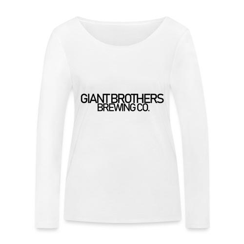 Giant Brothers Brewing co SVART - Ekologisk långärmad T-shirt dam från Stanley & Stella