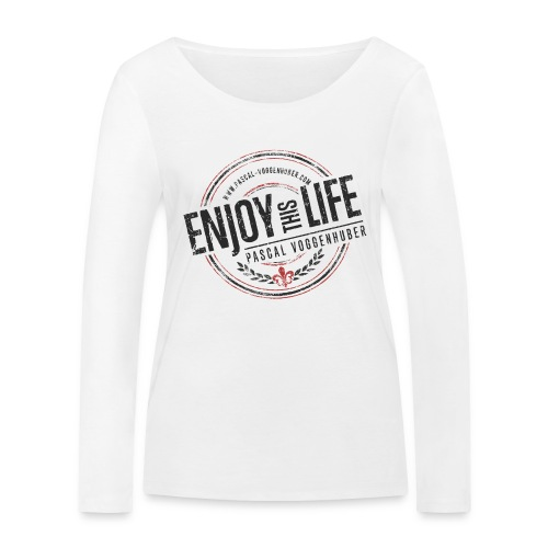 Enjoy this Life® & Fleur de Lys Pascal Voggenhuber - Frauen Bio-Langarmshirt von Stanley & Stella