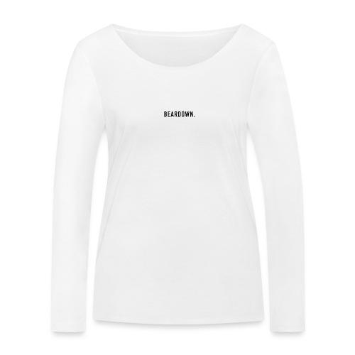 BEARDOWN Brand, classic, black - Frauen Bio-Langarmshirt von Stanley & Stella