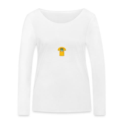 Castle design - Økologisk Stanley & Stella langærmet T-shirt til damer