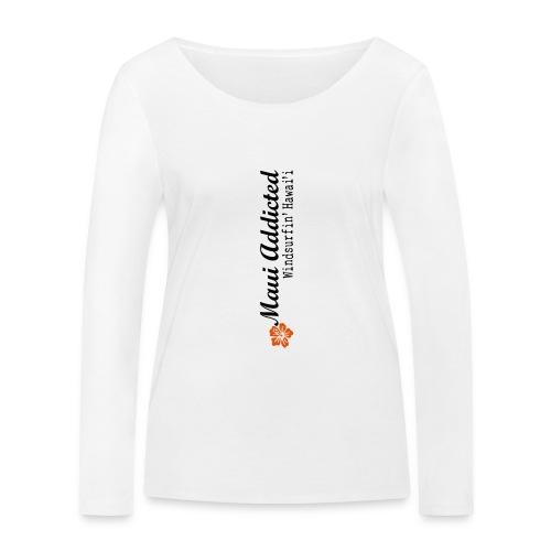 MAddLogoVert ai - Women's Organic Longsleeve Shirt by Stanley & Stella