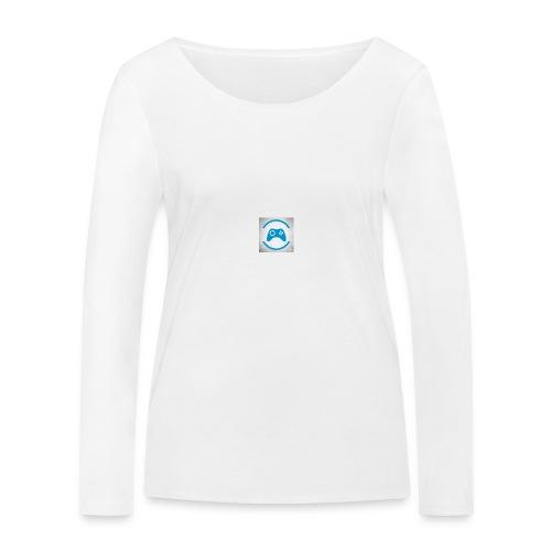 mijn logo - Vrouwen bio shirt met lange mouwen van Stanley & Stella