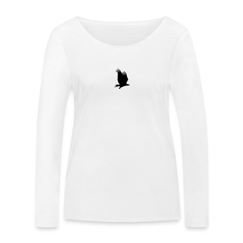 Tirolerbergluft pur (kleiner Adler) - Frauen Bio-Langarmshirt von Stanley & Stella