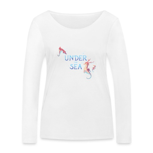 Under the Sea - Hippocampes - T-shirt manches longues bio Stanley & Stella Femme
