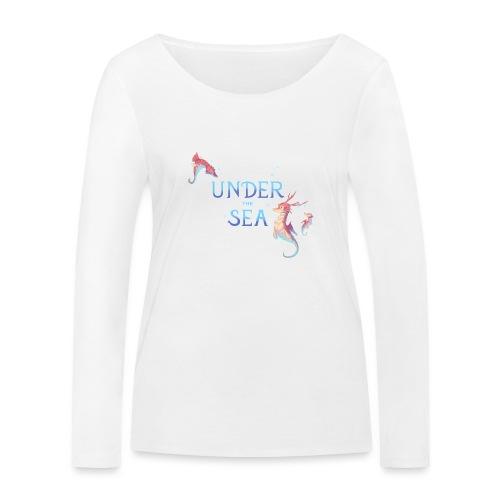 Under the Sea - Seahorses - Women's Organic Longsleeve Shirt by Stanley & Stella