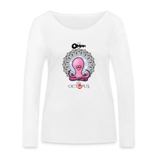 octopus meditation - Women's Organic Longsleeve Shirt by Stanley & Stella