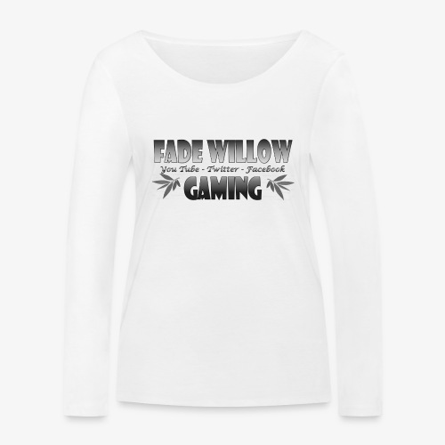 Fade Willow Gaming - Women's Organic Longsleeve Shirt by Stanley & Stella