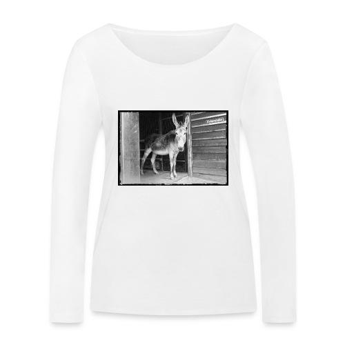 Zickenstube Esel - Frauen Bio-Langarmshirt von Stanley & Stella