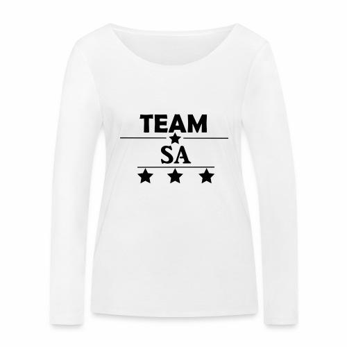 Team SA Logo - Ekologisk långärmad T-shirt dam från Stanley & Stella