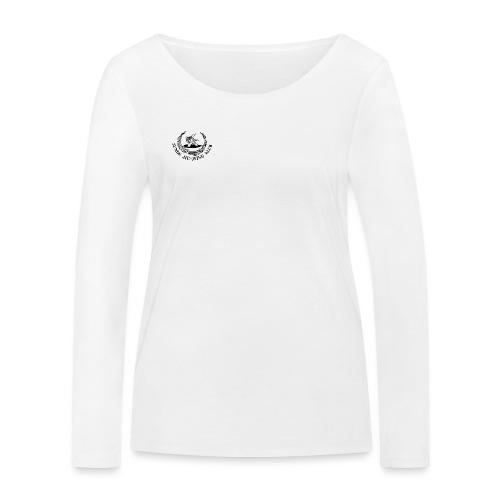 logo på brystet - Økologisk Stanley & Stella langærmet T-shirt til damer