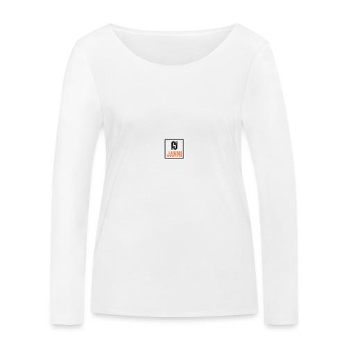 Janni - Økologisk Stanley & Stella langærmet T-shirt til damer