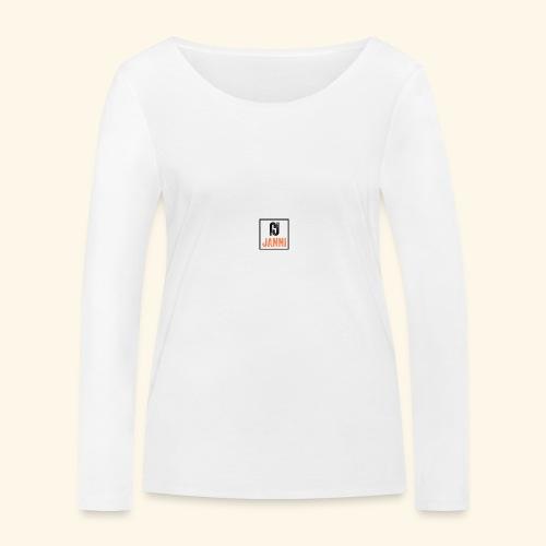Janni Original Design - Økologisk Stanley & Stella langærmet T-shirt til damer