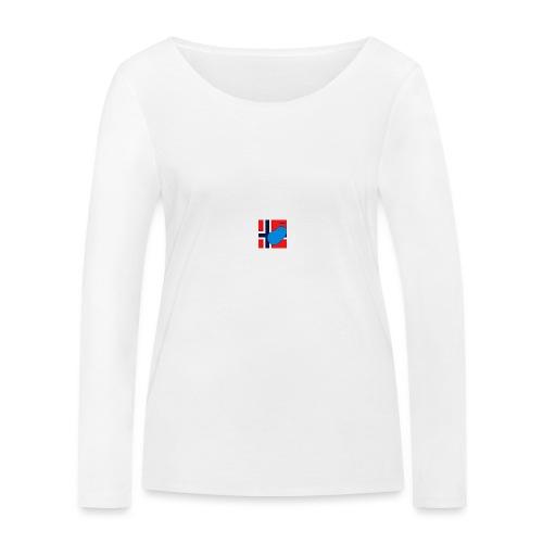 NorPot SAS ACE - Økologisk langermet T-skjorte for kvinner fra Stanley & Stella