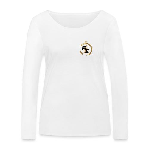 FS Logo Nero - Maglietta a manica lunga ecologica da donna di Stanley & Stella