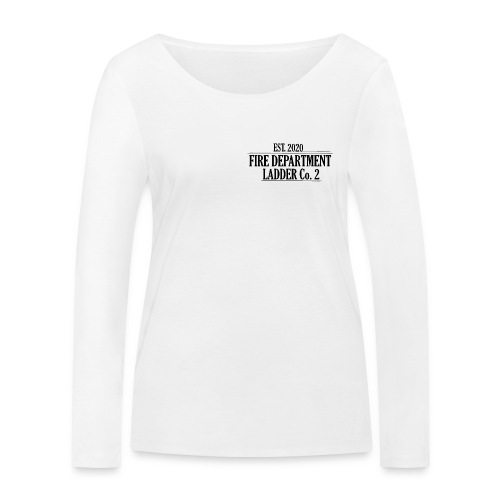 Fire Department - Ladder Co.2 - Økologisk Stanley & Stella langærmet T-shirt til damer