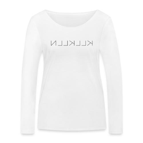 KLLKLLN Black Logo - Women's Organic Longsleeve Shirt by Stanley & Stella