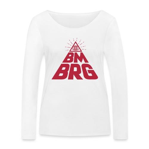 BMBRG Auge - Frauen Bio-Langarmshirt von Stanley & Stella