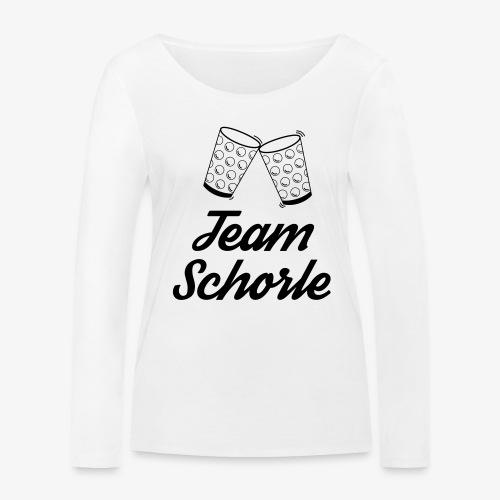 Team Schorle - Frauen Bio-Langarmshirt von Stanley & Stella