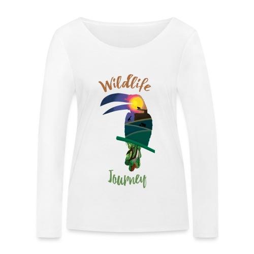 Wildlife Journey - Frauen Bio-Langarmshirt von Stanley & Stella