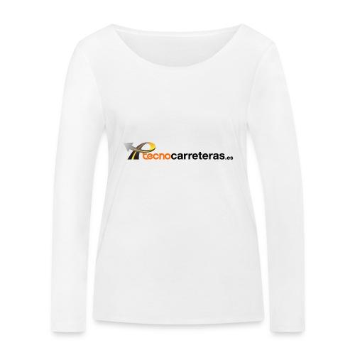 Tecnocarreteras - Camiseta de manga larga ecológica mujer de Stanley & Stella