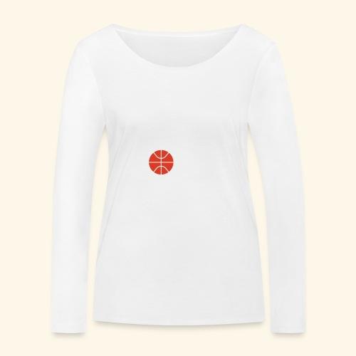 LOVE Cross basketball red 001 - Frauen Bio-Langarmshirt von Stanley & Stella