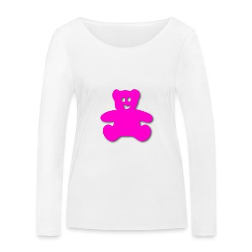 teddy bär - Frauen Bio-Langarmshirt von Stanley & Stella