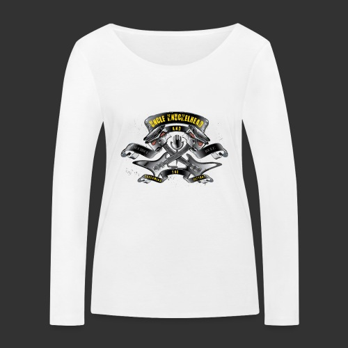 screaming pistons - Vrouwen bio shirt met lange mouwen van Stanley & Stella