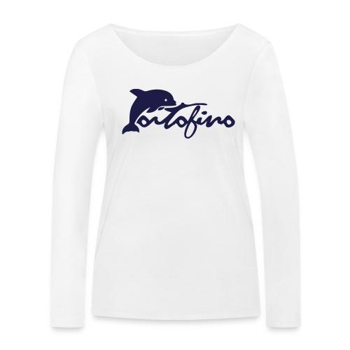portofino 2019 NAVY - Women's Organic Longsleeve Shirt by Stanley & Stella