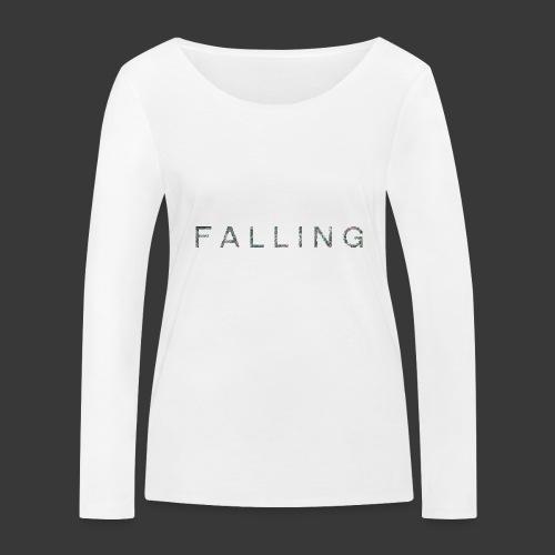 F A L L I N G - T-shirt manches longues bio Stanley & Stella Femme