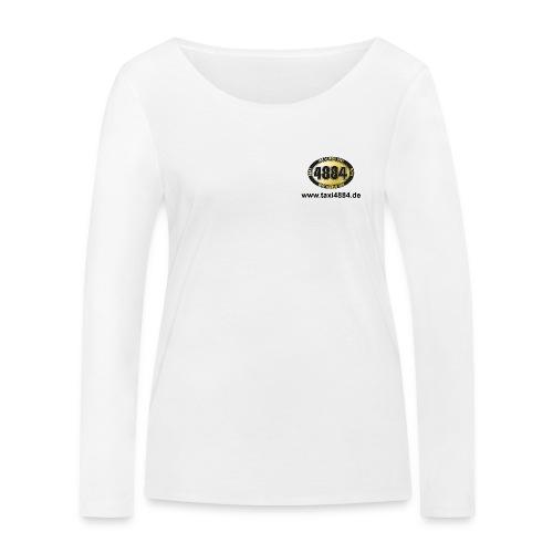 logoeinfach schwarz - Frauen Bio-Langarmshirt von Stanley & Stella